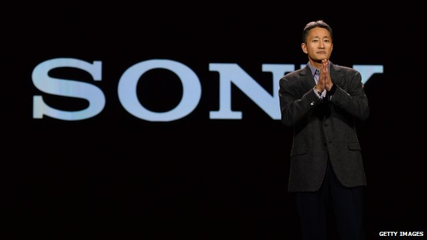 Sony chief executive Kazuo Hirai