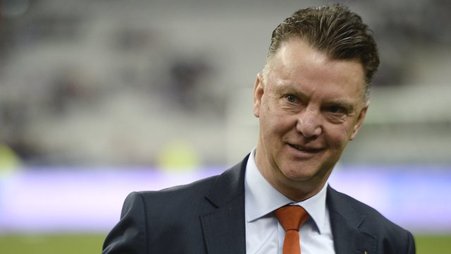 Louis van Gaal is the new Manchester United manager