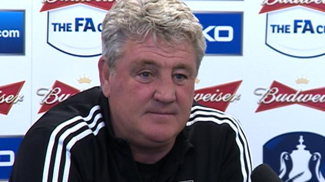 Hull manager Steve Bruce talks about Tim Sherwood's sacking at Tottenham