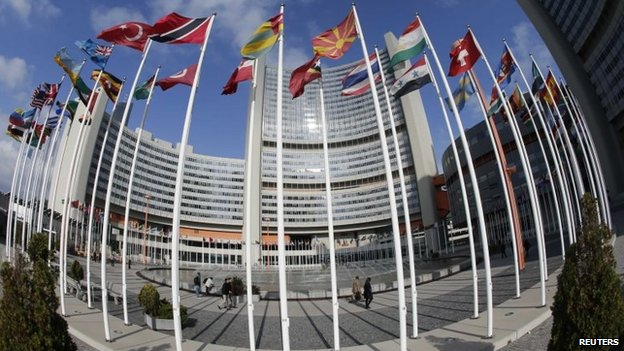 United Nations headquarters in Vienna (14 May 2104)