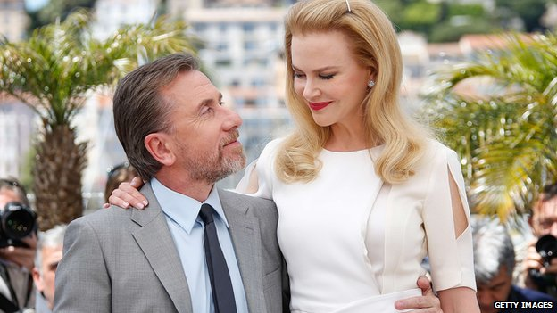 Tim Roth and Nicole Kidman at the Cannes Film Festival