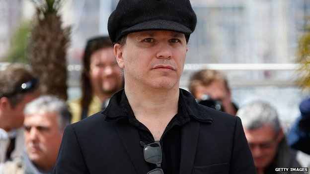 French director Olivier Dahan in Cannes
