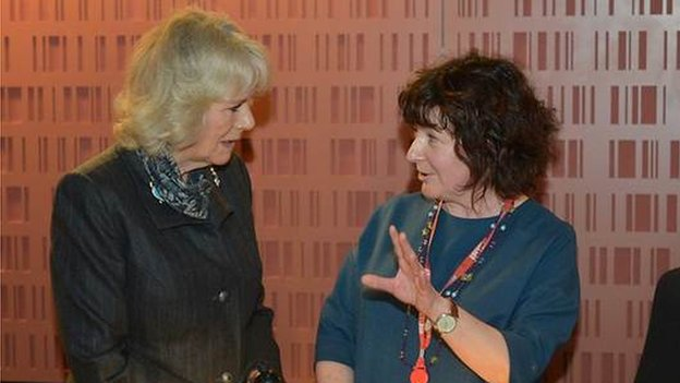 Jane Garvey and Duchess of Cornwall