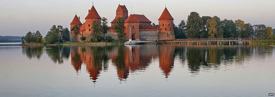 Trakai Castle, Lithuania, in 2009