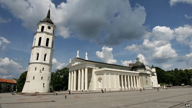 Vilnius Cathedral in 2009