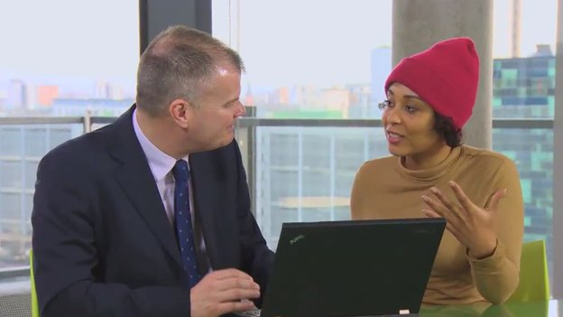 Jason Greaves advises Janiece on filling out online application forms