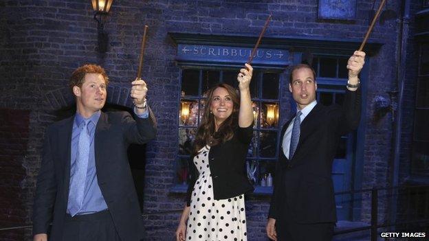Prince Harry, Kate Middleton, Prince William