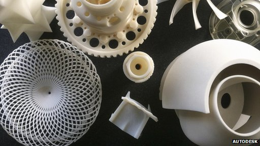 Autodesk printed objects
