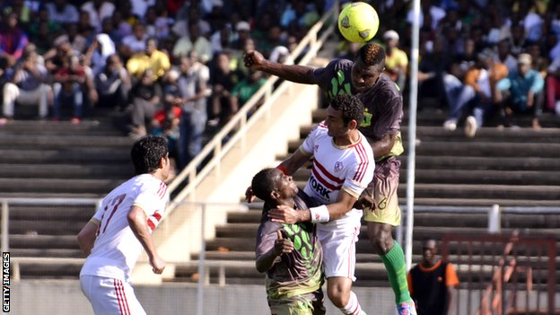 Vita Club vs Zamalek