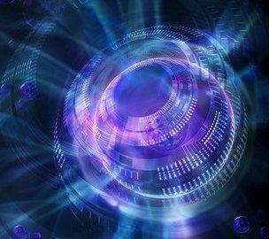 Quantum computer, conceptual artwork