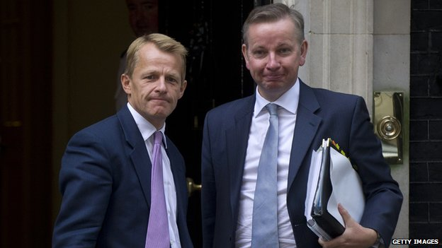 David Laws and Michael Gove