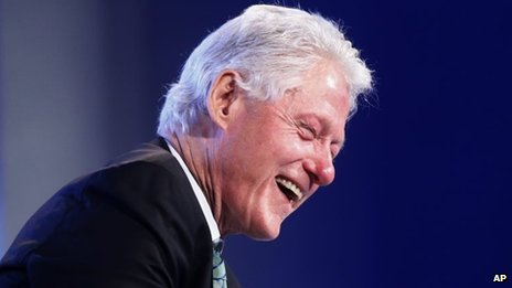 Bill Clinton in Washington (14 May 2014)