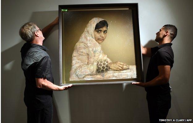 Malala portrait