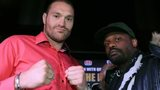 Tyson Fury and Dereck Chisora
