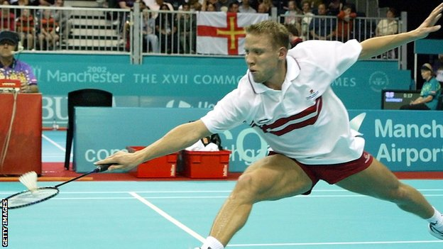 Mark Constable won Commonwealth Games gold in Manchester back in 2002 for England