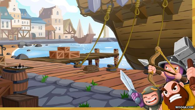 Screengrab of Kingsbridge game