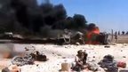 Deadly blast at Syria-Turkey border