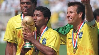 Brazil win the 1994 World Cup