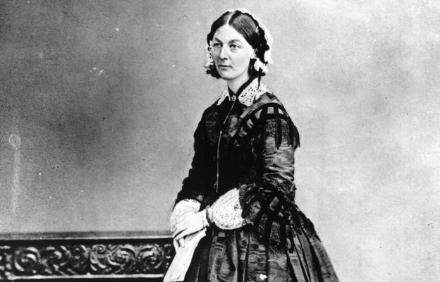 Florence Nightingale circa 1858