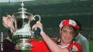 Steve Bruce won the FA Cup with Manchester United in 1994