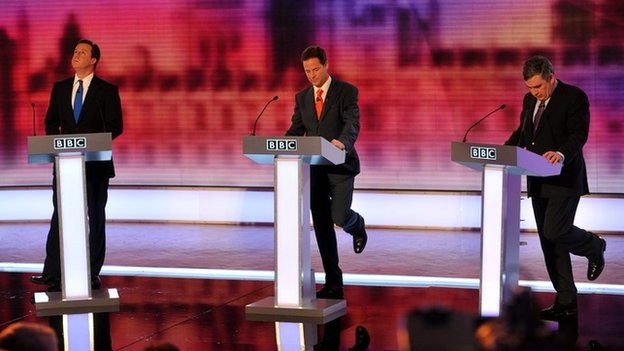 2010 leader debates