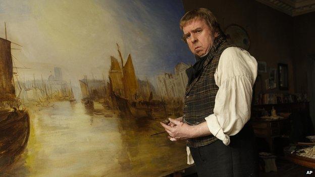 Still from Mr Turner