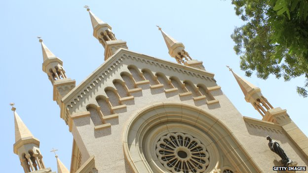 St Matthew's Catholic Cathedral near the Sudanese capital Khartoum