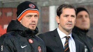 Simon Donnelly and Jackie McNamara
