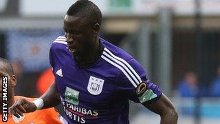 Anderlecht's  Cheikhou Kouyate