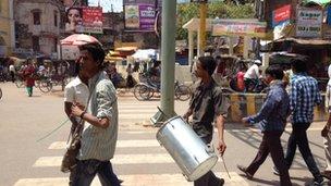 Residents of Varanasi