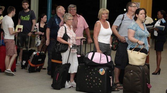 British passengers