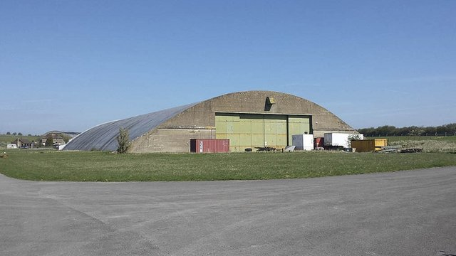 Hangars at Wroughton Airfield, Swindon