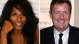 Sinitta and Piers Morgan