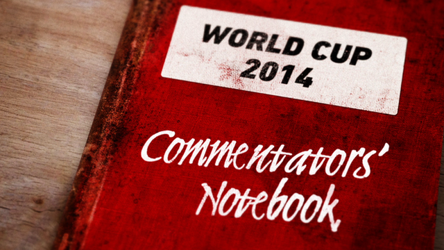 World Cup 2014 BBC Sport commentators' picks