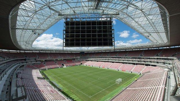 Arena Pernambuco in Recife, Brazil