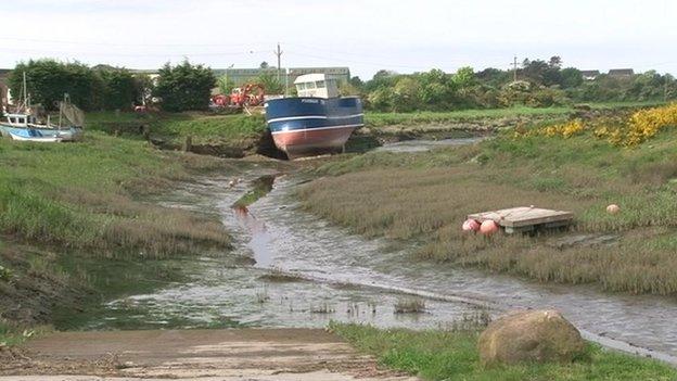 Annan harbour