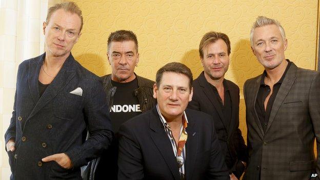 Spandau Ballet - Gary Kemp, John Keeble, Tony Hadley, Steve Norman, Martin Kemp