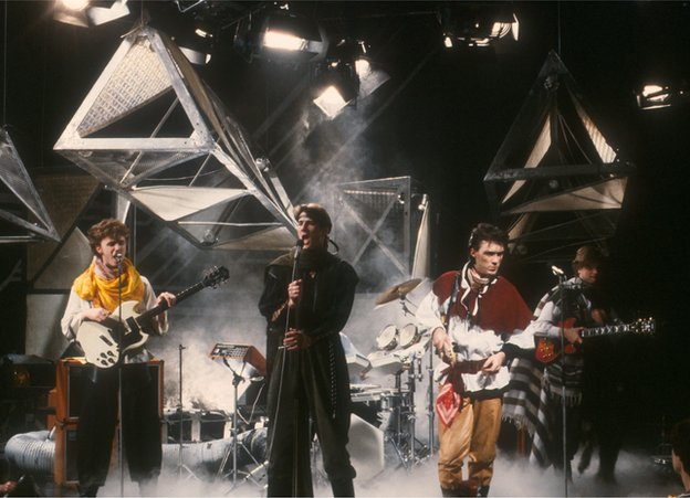 Spandau Ballet on TOTP