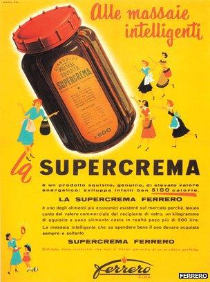 Supercrema advertisement