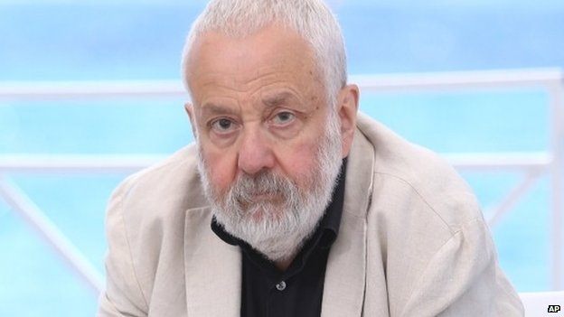 Mike Leigh at Cannes