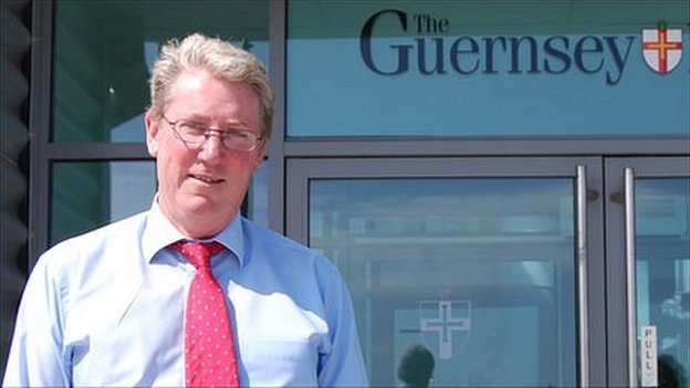 Richard Digard, Guernsey Press editor