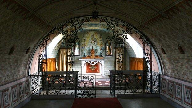 Inside the Italian Chapel