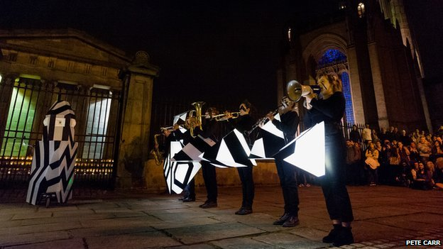Performers in Liverpool