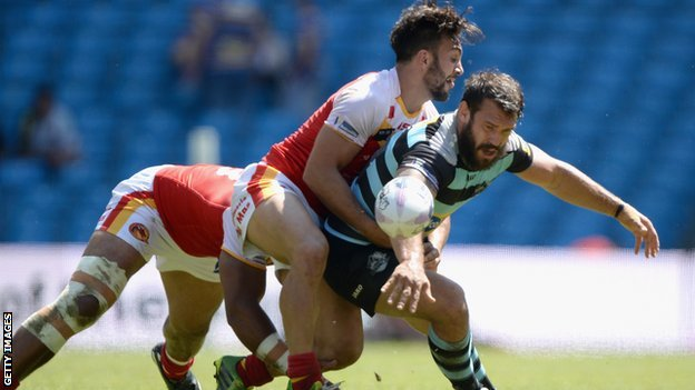 London Broncos v Catalan Dragons