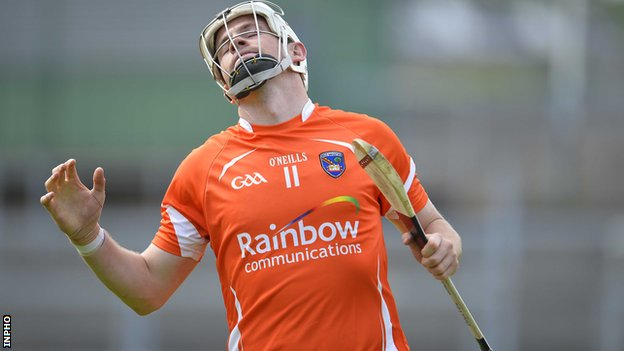 Declan Coulter converted two penalties in defeat to Wicklow