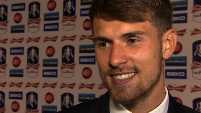 Scoring FA Cup winner was mind-blowing - Aaron Ramsey