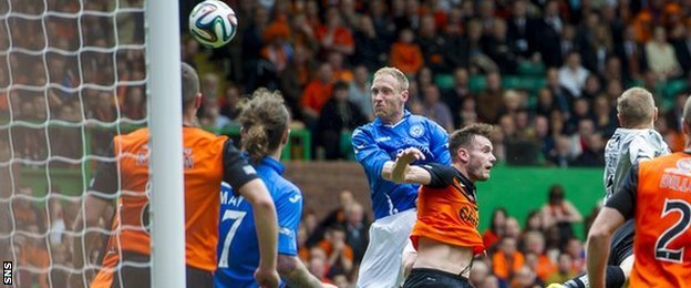 Steven Anderson scores for St Johnstone