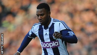Benin and West Bromwich Albion's Stephane Sessegnon