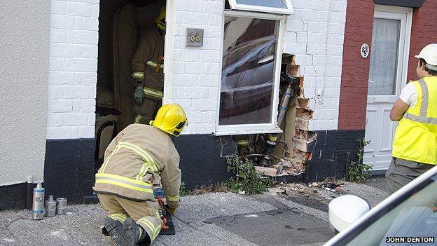 Lowestoft crash