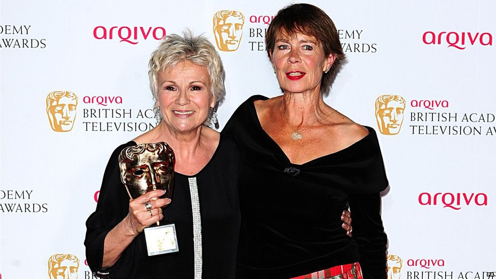 Julie Walters and Celia Imrie
